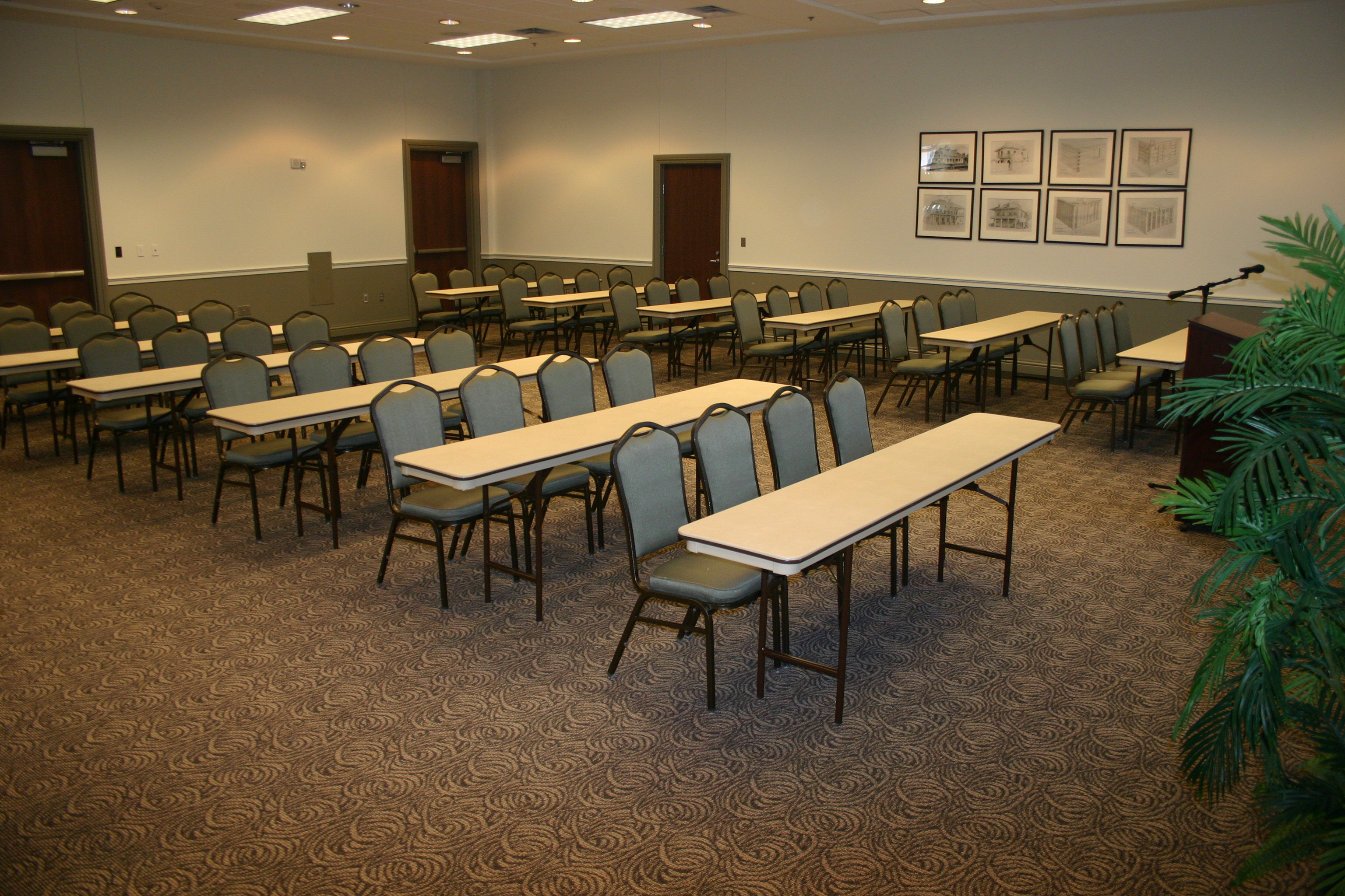 Oakland Meeting Room Classroom Style