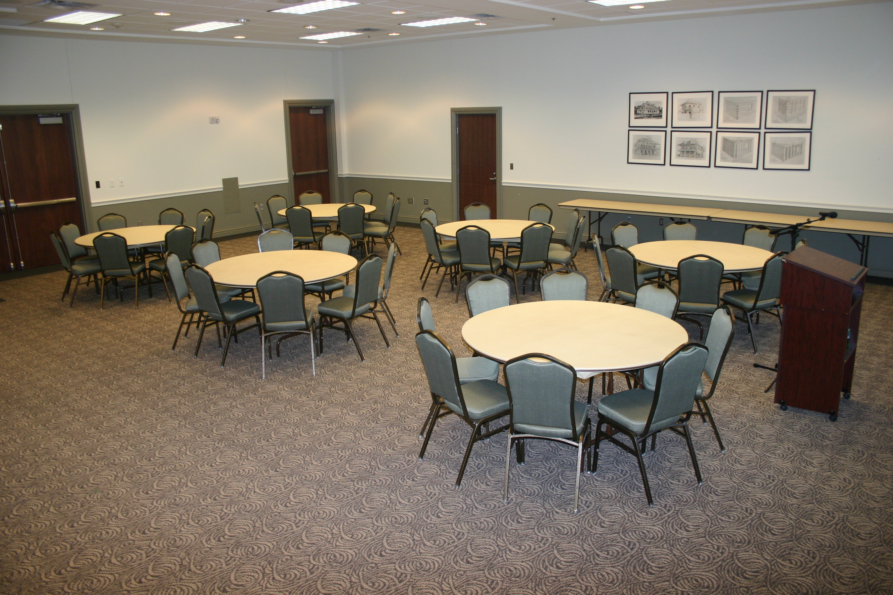 Magnolia Meeting Room Banquet Style