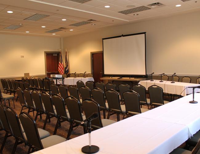 Magnolia Meeting Room Classroom Style